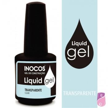 Liquid Gel Inocos Soak Off Transparente 15ml