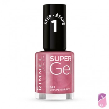 Rimmel London Super Gel #023 Grape Sorbet 12ml