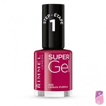 Rimmel London Super Gel #025 Urban Purple 12ml