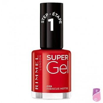 Rimmel London Super Gel #059 Hibiscus Hottie 12ml